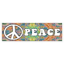 Groovy Peace Bumper Bumper Sticker