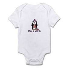 life's a stitch Infant Bodysuit