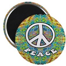 """Groovy Peace 2.25"""" Magnet (100 pack)"""
