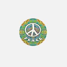 Groovy Peace Mini Button
