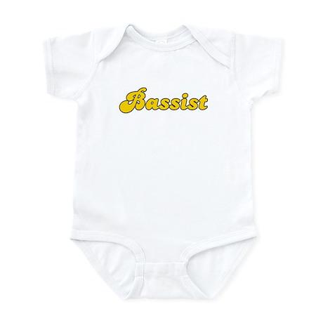 Retro Bassist (Gold) Infant Bodysuit