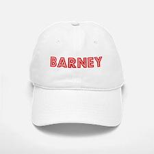 Retro Barney (Red) Baseball Baseball Cap