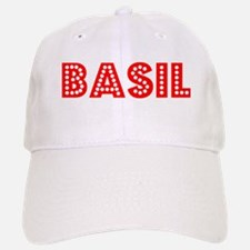 Retro Basil (Red) Baseball Baseball Cap