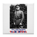 Team Infidel - General Pershing Tile Coaster