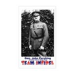 Team Infidel - General Pershing Sticker (Rectangul