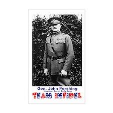 Team Infidel - General Pershing Sticker (Rectangul