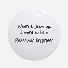 When I grow up I want to be a Reservoir Engineer O