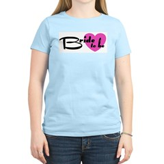 Bride To Be Women's Pink T-Shirt
