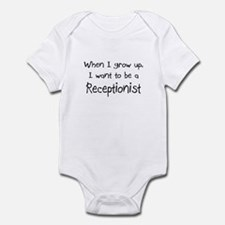 When I grow up I want to be a Receptionist Infant