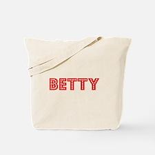 Retro Betty (Red) Tote Bag