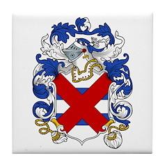 Port Family Crest Tile Coaster