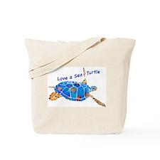 Love a Sea Turtle 2 Tote Bag