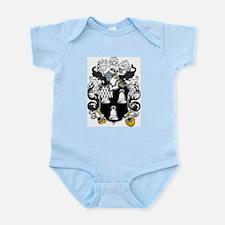 Porter Family Crest Infant Creeper