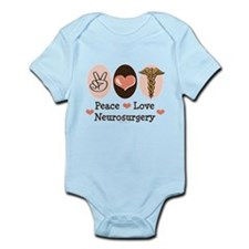 Peace Love Neurosurgery Infant Bodysuit