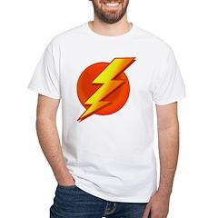 Superhero White T-Shirt