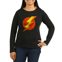 Superhero Women's Long Sleeve Dark T-Shirt