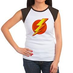 Superhero Women's Cap Sleeve T-Shirt