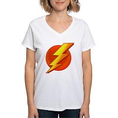 Superhero Women's V-Neck T-Shirt