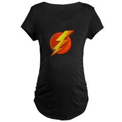 Superhero Maternity Dark T-Shirt
