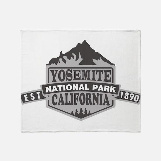 Yosemite - California Throw Blanket