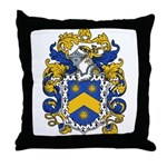 Powell Family Crest Throw Pillow