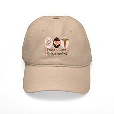 Peace Love Otolaryngology ENT Baseball Cap
