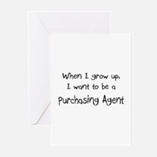 When I grow up I want to be a Purchasing Agent Gre