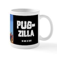 Pug-zilla Small Mug