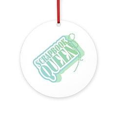 Tagged Scrapbook Queen Keepsake (Round)