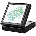 Tagged Scrapbook Queen Keepsake Box