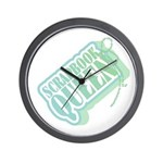 Tagged Scrapbook Queen Wall Clock