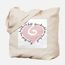 Full Hands Full Heart - Tote Bag