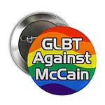 GLBT Against McCain campaign button