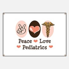 Peace Love Pediatrics Banner