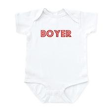 Retro Boyer (Red) Infant Bodysuit