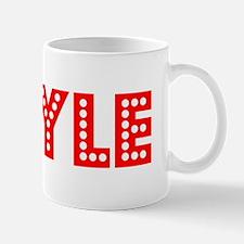 Retro Boyle (Red) Mug