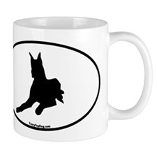 Sitting Great Dane Mug