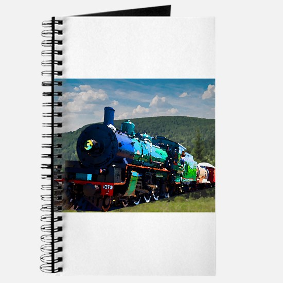 Green Steam Train Journal