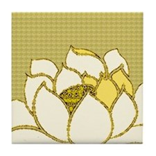 Lotus Flower Hasu Tile Coaster