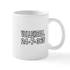 """""""Volleyball 24-7-365"""" Mug"""