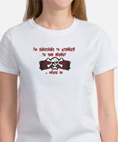 Disinclined Women's T-Shirt