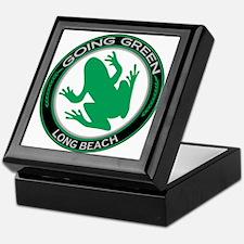 Going Green Long Beach Frog Keepsake Box