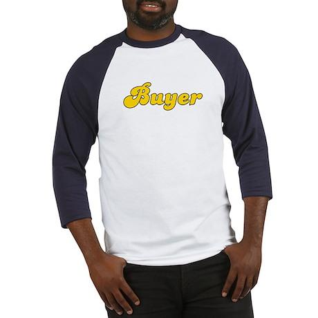 Retro Buyer (Gold) Baseball Jersey