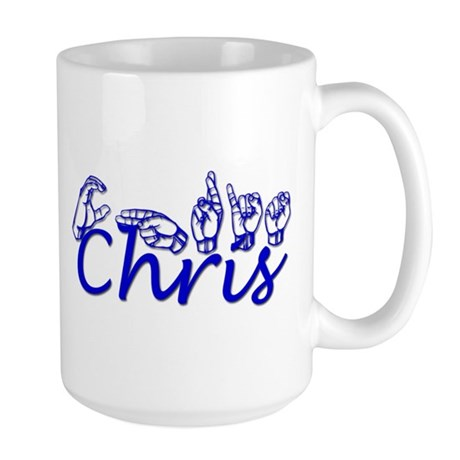 Chris Large Mug