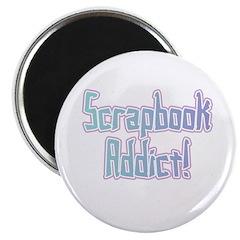 Scrapbook Addict Magnet
