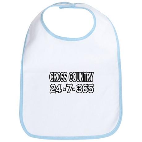 """Cross Country 24-7-365"" Bib"