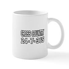 """Cross Country 24-7-365"" Mug"