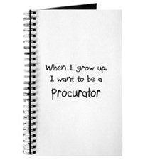 When I grow up I want to be a Procurator Journal