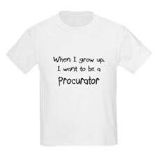 When I grow up I want to be a Procurator Kids Ligh