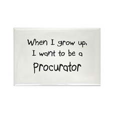 When I grow up I want to be a Procurator Rectangle